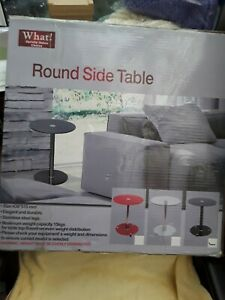New In Box Round Side Table