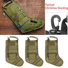 3pcs Tactical Molle Stocking Bag Xmas Storage Military Magazine Utility Pouches