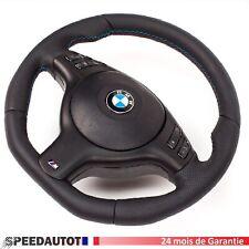 Aplati Volant avec Airbag BMW E46 E39 M Volant avec Écran Multifonction Noir!