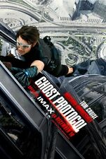 POSTER MISSION IMPOSSIBLE 2 3 4 GHOST PROTOCOL PROTOCOL GHOST TOM CRUISE #2