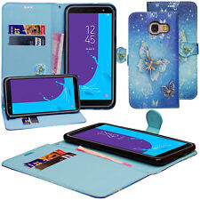 For Samsung Galaxy A5 2017 & A8 2018 Flip Cover Wallet PU Leather Phone Case
