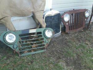 2  Grills / Vintage Jeep & AMC Grille / Grill