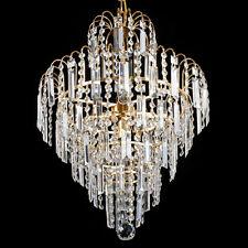 Lampadario a cristallo chiaro del pendente del soffitto del lampadario a bracci