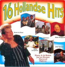 16 HOLLANDSE HITS - 16TR CD DUTCH / Highway / John Spencer / Jan ten Hoopen