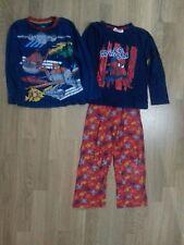 lotto 568 pigiama bimbo bambino disney spiderman con 2 maglie 5/6 anni