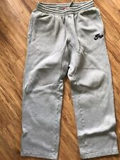 Air Nike Air Sweatpants Men's Size Medium Cotton Blend Thick With Pockets