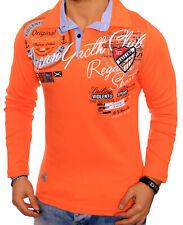 453af7d46592a Hombre Sudadera con Capucha Manga Larga Camisa Camiseta Vintage M L XL Polo