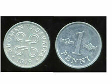 FINLANDE   1 penni 1979   ( bis )