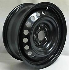 16 Inch 5 Lug Black Steel Wheel Rim Fits Nissan Sentra We99526N New