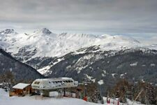 Peisey-Vallandry Les Arcs Paradiski Ski French Alps France Photograph Picture