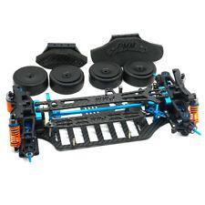 Plastic&Carbon Shaft Drive Car Body Frame Kit for TT01 TT01E 1/10 RC 4WD Touring