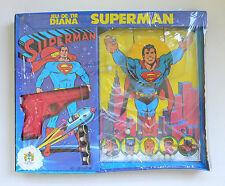 Vintage SUPERMAN Jeu De Tir DIANA Target Game 1979 DC Comics MISB