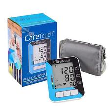 Care Touch Blood Pressure Monitor with AC Adapter - Fully Automatic Upper Arm BP