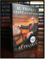 Giant of the Senate ✎SIGNED✎ by AL FRANKEN New Hardcover 1st Edition & Printing