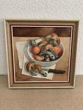 Bild Ölbild Pilze Tschechei antik alt Öl