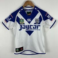 Canterbury Bulldogs NRL Jersey Shirt Youth 8 Years Short Sleeve Official