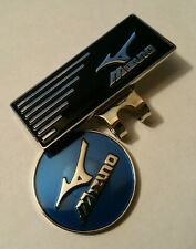 Brand New Blue and Black Mizuno Golf Ball marker with hat clip!!