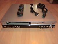Panasonic DMR-EZ45V DVD- / VHS-Videorecorder inkl. FB, 2 Jahre Garantie