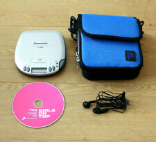 Panasonic SL-S210 Vintage Portable CD Player with Case & Ear Phone