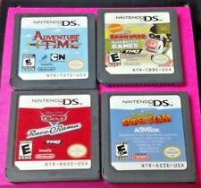 Cars O Rama Barnyard, Shrek, Adventure Time Nintendo DS Lite 2ds 3ds Game Disney
