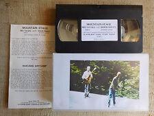 Derek Bailey, Min Tanaka – Mountain Stage  - cassetta video VHS INCUS