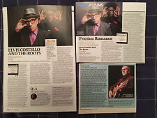 ELVIS COSTELLO - ARTICLES / REVIEWS - CLIPPINGS / CUTTINGS