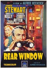Rear Window Alfred Hitchcock 35mm Film Cell strip very Rare var_e