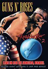 GUNS N ROSES 01.23.91 - RIO DE JANEIRO DVD - AXL CAM   I ACCEPT PAYPAL!!!