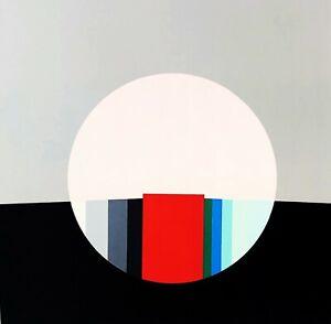Eugenio Carmi Cerchio litografia 80x60 no schifano dorazio nespolo arman rotella