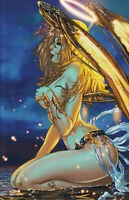 Joan of Arc From the Ashes #1E NYCC Blue Rainbow LTD 500