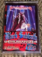 Black Sabbath – Dehumanizer. VG Cassette Tape Plays Well Heavy/Doom Metal TAKT1