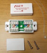 Fusión Cat6 en Línea Acoplador de IDC T70-5485 Blanco Cable de datos Ethernet Carpintero conectar