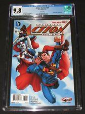 Action Comics #39 (2015) Harley Quinn Variant Cover CGC 9.8 DC Comics EH266