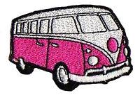 Patche écusson combi mini van VW thermocollant patch NagaPatches