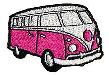 Patched Patch Combi Mini Van VW Thermoadhesive Patch Nagapatches