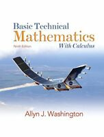 Basic Technical Mathematics with Calculus by Allyn J...