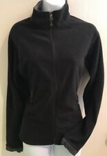 REI Women's Black Long Sleeve Full Zip Jacket Coat Size Medium