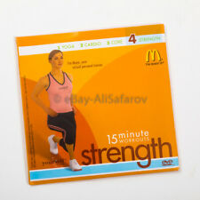15 MINUTE WORKOUTS STRENGTH DVD McDONALDS NEW! SEALED!