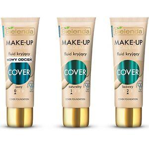 Bielenda Make Up Fluid Cover Foundation Vitamin E Anti Ageing Moisturizing 30g
