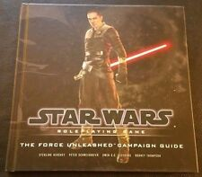 Star Wars Roleplaying Game THE FORCE UNLEASHED CAMPAIGN GUIDE D20 WTC HC RPG NEW