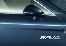 TOYOTA RAV 4 CHROME VINYL CAR DOOR SIDE DECALS GRAPHICS STICKERS X2 – 7YR VINYL