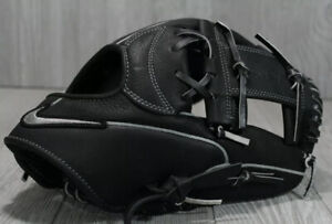 "NEW Nike 11.5"" Shado Edge Baseball Glove BF1749 010 RHT Black Silver Right Throw"