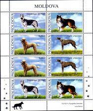 Moldawien 565/68 ** ZD KB Hunde Mi. 15,00 (2951)