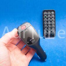 Radio emisor MP3 bluetooth coche mechero USB FM Micro SD musica CD movil tuning