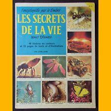 Encyclopédie par le timbre LES SECRETS DE LA VIE complet timbres non collés 1958