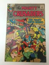 The Mighty Crusaders 4 - Radio Comics (Archie) 1966 - Fly-Man/Shield/Black Hood