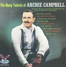 ARCHIE CAMPBELL - THE MANY TALENTS OF ARCHIE CAMPBELL * NEW CD