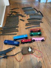 Vtg Bachmann Hong Kong Ho Scale Train  Car Lot Track Engine Cabooses& More P1
