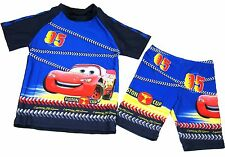 Boys Cars Lightening McQueen Rash Guard Pants 2 PC Swimsuit Set ~ Age 6