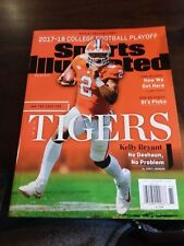 Sports Illustrated 2017-18 College Football Playoff Clemson Tigers Kelly Bryant